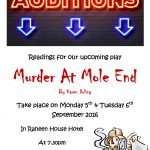 Readings for Murder at Mole End
